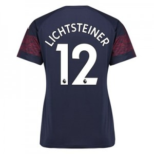 Arsenal Away Shirt 2018-19 - Womens with Lichtsteiner 12 printing