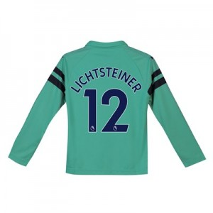 Arsenal Third Shirt 2018-19 - Kids - Long Sleeve with Lichtsteiner 12 printing
