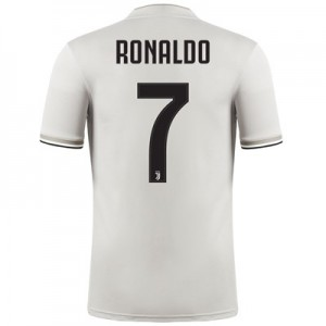 Juventus Away Shirt 2018-19 - Kids with Ronaldo 7 printing