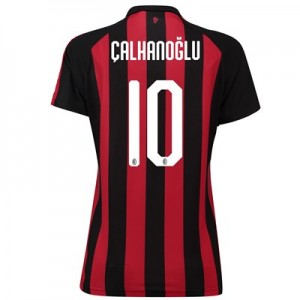 AC Milan Home Shirt 2018-19 - Womens with Çalhanoglu 10 printing