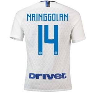 Inter Milan Away Stadium Shirt 2018-19 - Kids with Nainggolan 14 printing