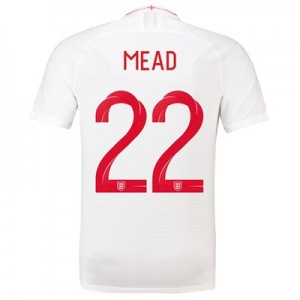 England Home Vapor Match Shirt 2018 with Mead 22 printing