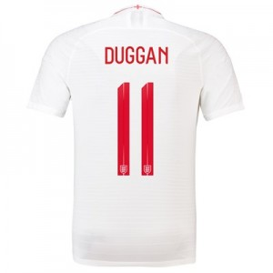 England Home Vapor Match Shirt 2018 with Duggan11 printing