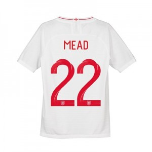 England Home Vapor Match Shirt 2018 - Kids with Mead 22 printing