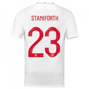 England Home Stadium Shirt 2018 with Staniforth 23 printing