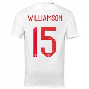 England Home Stadium Shirt 2018 with Williamson 15 printing