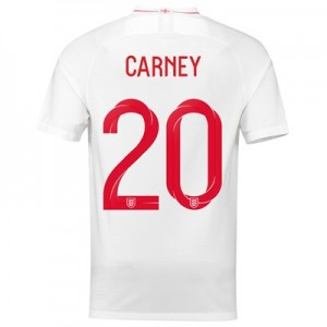 England Home Stadium Shirt 2018 with Carney 20 printing