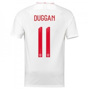 England Home Stadium Shirt 2018 with Duggan 11 printing