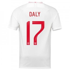 England Home Stadium Shirt 2018 with Daly 17 printing