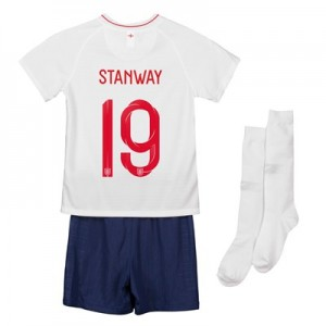 England Home Stadium Kit 2018 - Infants with Stanway 19 printing