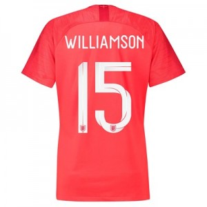 England Away Stadium Shirt 2018 - Womens with Williamson 15 printing