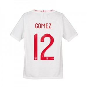 England Home Vapor Match Shirt 2018 - Kids with Gomez 12 printing