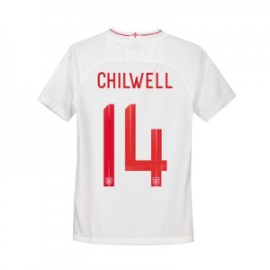 England Home Stadium Shirt 2018 - Kids with Chilwell 14 printing