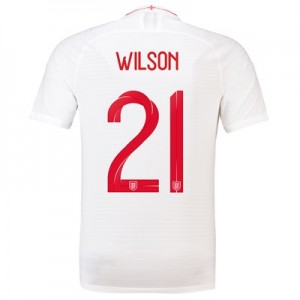England Home Vapor Match Shirt 2018 with Wilson 21 printing