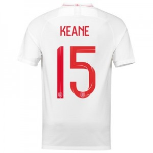 England Home Stadium Shirt 2018 with Keane 15 printing