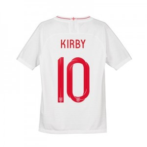 England Home Vapor Match Shirt 2018 - Kids with Kirby 10 printing