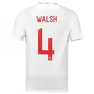 England Home Stadium Shirt 2018 with Walsh 4 printing