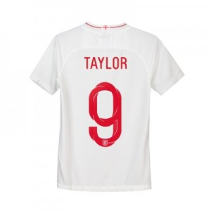 England Home Stadium Shirt 2018 - Kids with Taylor 9 printing