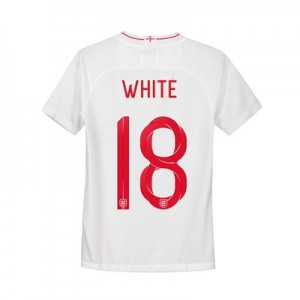 England Home Stadium Shirt 2018 - Kids with White 18 printing