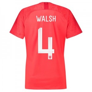 England Away Stadium Shirt 2018 - Womens with Walsh 4 printing