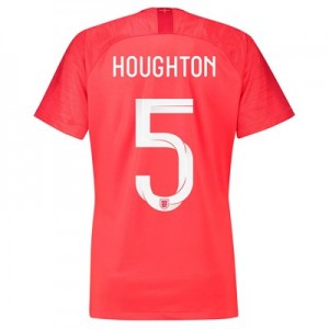 England Away Stadium Shirt 2018 - Womens with Houghton 5 printing