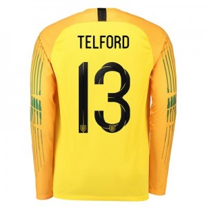 England Goalkeeper Stadium Shirt 2018 with Telford 13 printing