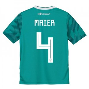 Germany Away Shirt 2018 - Kids with Maier 4 printing