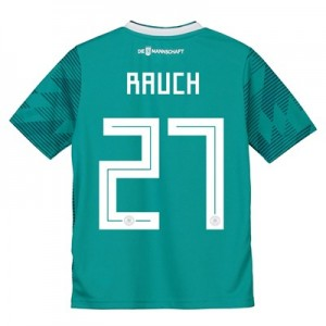 Germany Away Shirt 2018 - Kids with Rauch 27 printing