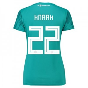 Germany Away Shirt 2018 - Womens with Knaak 22 printing