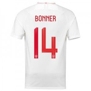 England Home Stadium Shirt 2018 - Mens with Bonner 14 printing