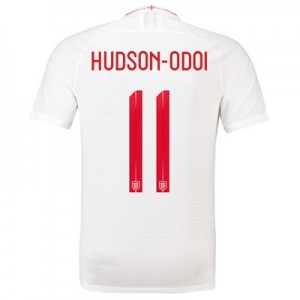 England Home Vapor Match Shirt 2018 - Men's with Hudson-Odoi 11 printing