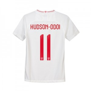 England Home Stadium Shirt 2018 - Kids with Hudson-Odoi 11 printing