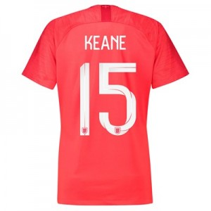 England Away Stadium Shirt 2018 - Womens with Keane 15 printing