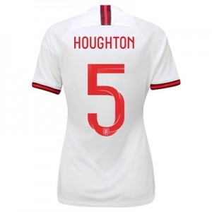 England Home Vapor Match Shirt 2019-20 - Women's with Houghton 5 printing