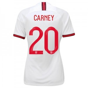 England Home Vapor Match Shirt 2019-20 - Women's with Carney 20 printing