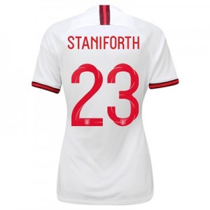 England Home Vapor Match Shirt 2019-20 - Women's with Staniforth 23 printing