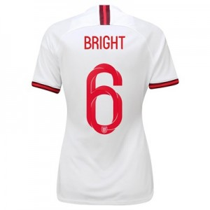 England Home Stadium Shirt 2019-20 - Women's with Bright 6 printing