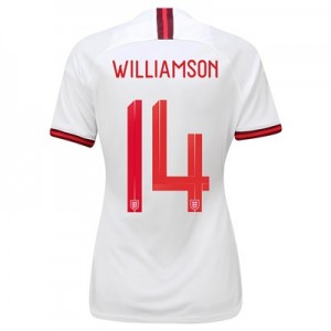 England Home Stadium Shirt 2019-20 - Women's with Williamson 14 printing