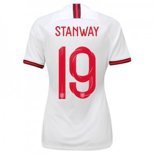 England Home Stadium Shirt 2019-20 - Women's with Stanway 19 printing