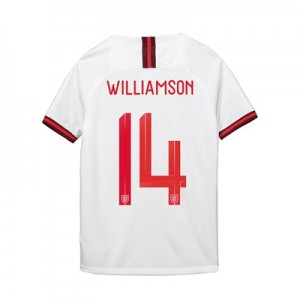 England Home Stadium Shirt 2019-20 - Kid's with Williamson 14 printing