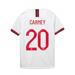 England Home Stadium Shirt 2019-20 - Kid's with Carney 20 printing