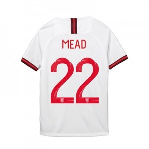 England Home Stadium Shirt 2019-20 - Kid's with Mead 22 printing