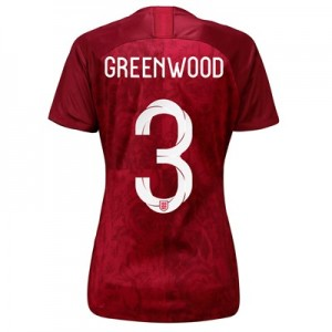 England Away Stadium Shirt 2019-20 - Women's with Greenwood 3 printing
