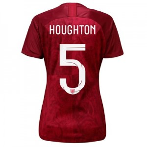 England Away Stadium Shirt 2019-20 - Women's with Houghton 5 printing