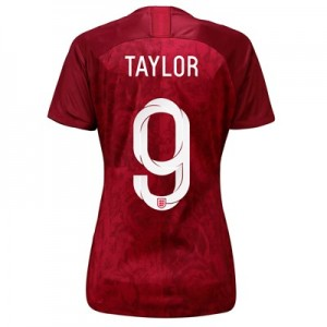 England Away Stadium Shirt 2019-20 - Women's with Taylor 9 printing