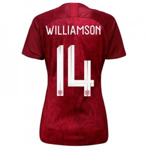 England Away Stadium Shirt 2019-20 - Women's with Williamson 14 printing