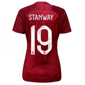 England Away Stadium Shirt 2019-20 - Women's with Stanway 19 printing