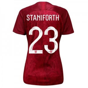 England Away Stadium Shirt 2019-20 - Women's with Staniforth 23 printing