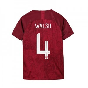 England Away Stadium Shirt 2019-20 - Kids with Walsh 4 printing
