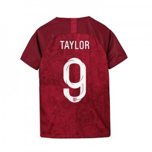 England Away Stadium Shirt 2019-20 - Kids with Taylor 9 printing